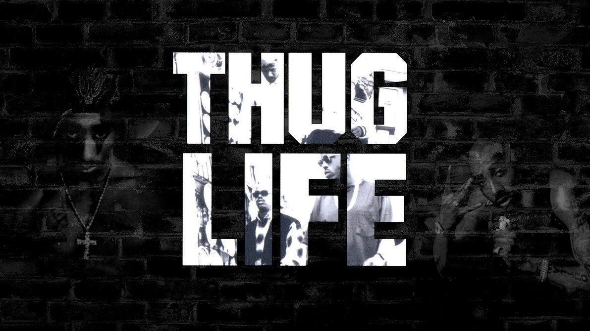Tupac Thug Life Tumblr Hd Wallpaper By Myusernamelol On