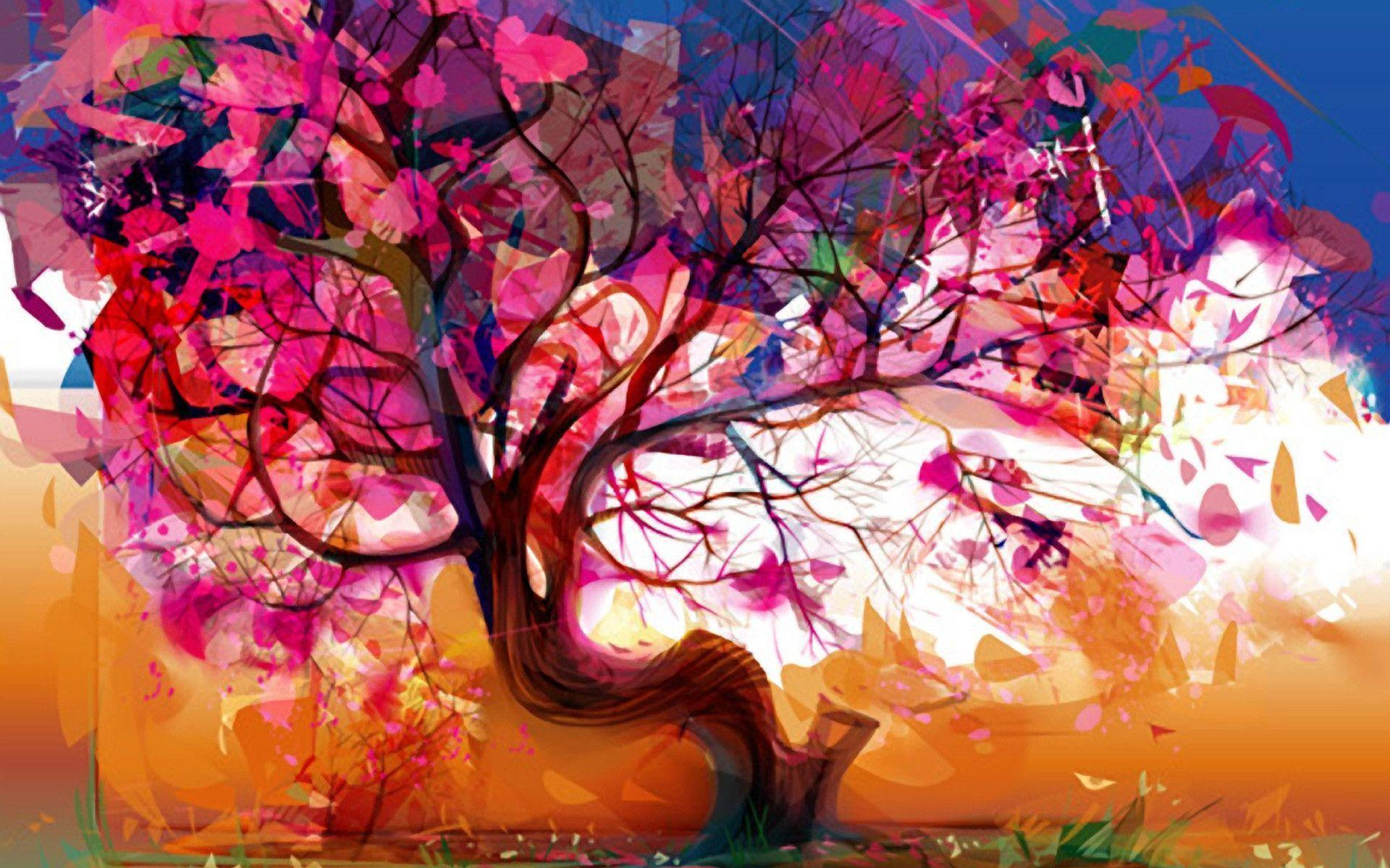 Cool Abstract Tree Background 1920x 1200 Wallpaperhere Wallpaper