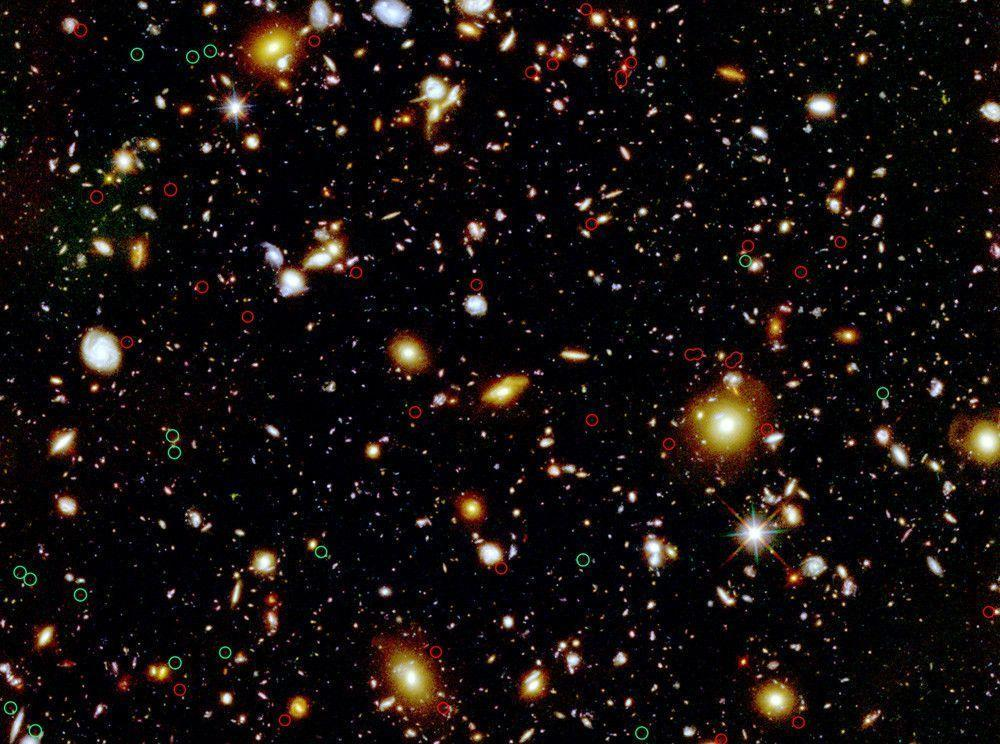 hubble deep field wallpaper 1600x1200-#5