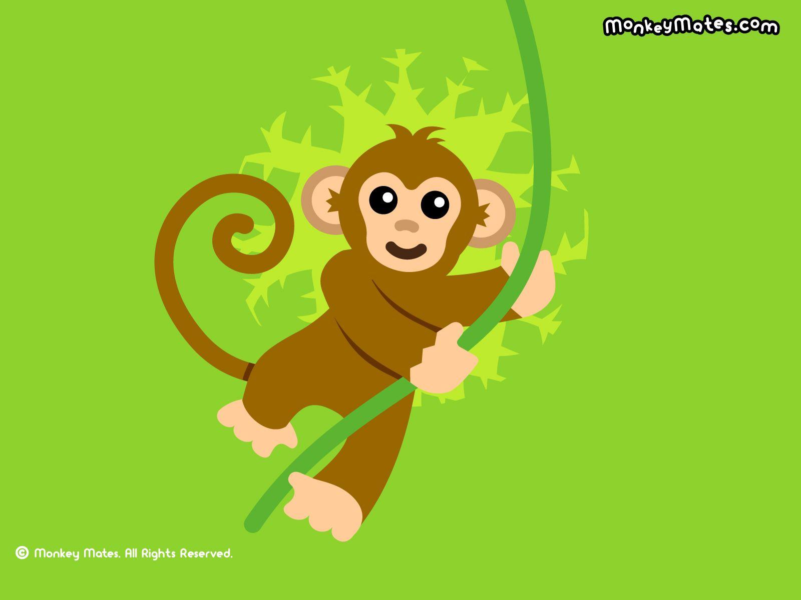 monkey cartoon wallpaper - photo #1