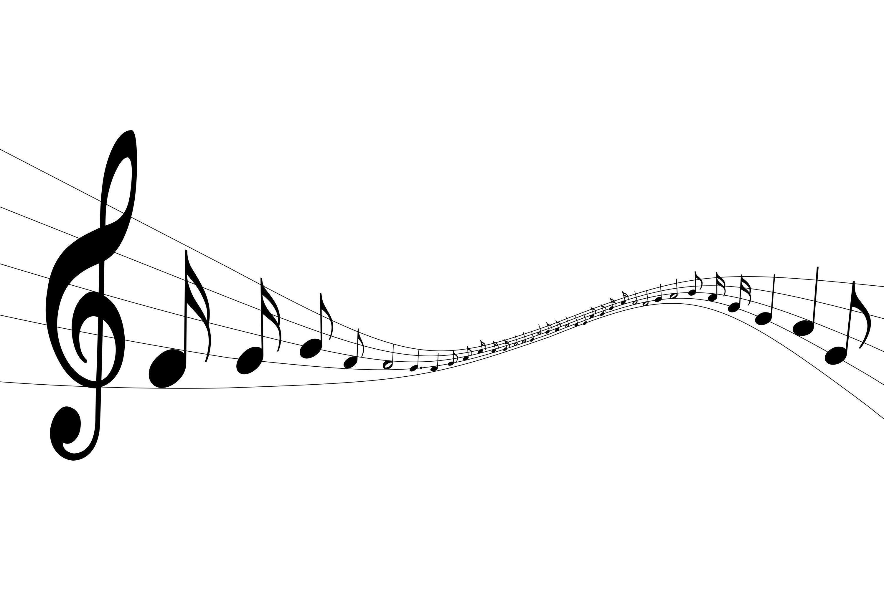 White Music Note Backgrounds 1 HD Wallpapers