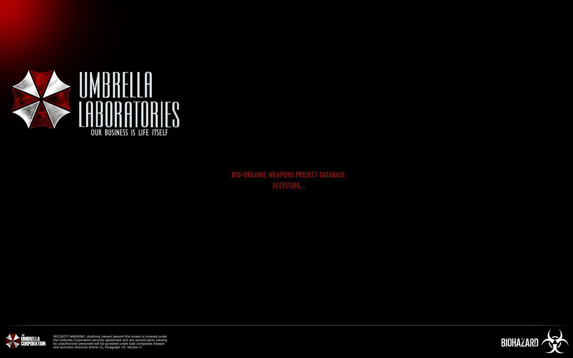 Umbrella Corporation Logo Wallpaper