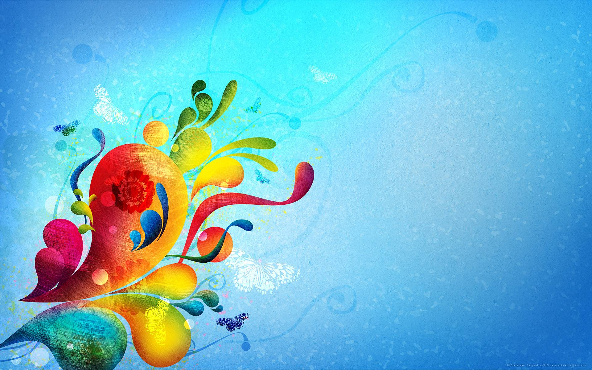 wallpapers hd abstract colors - photo #9