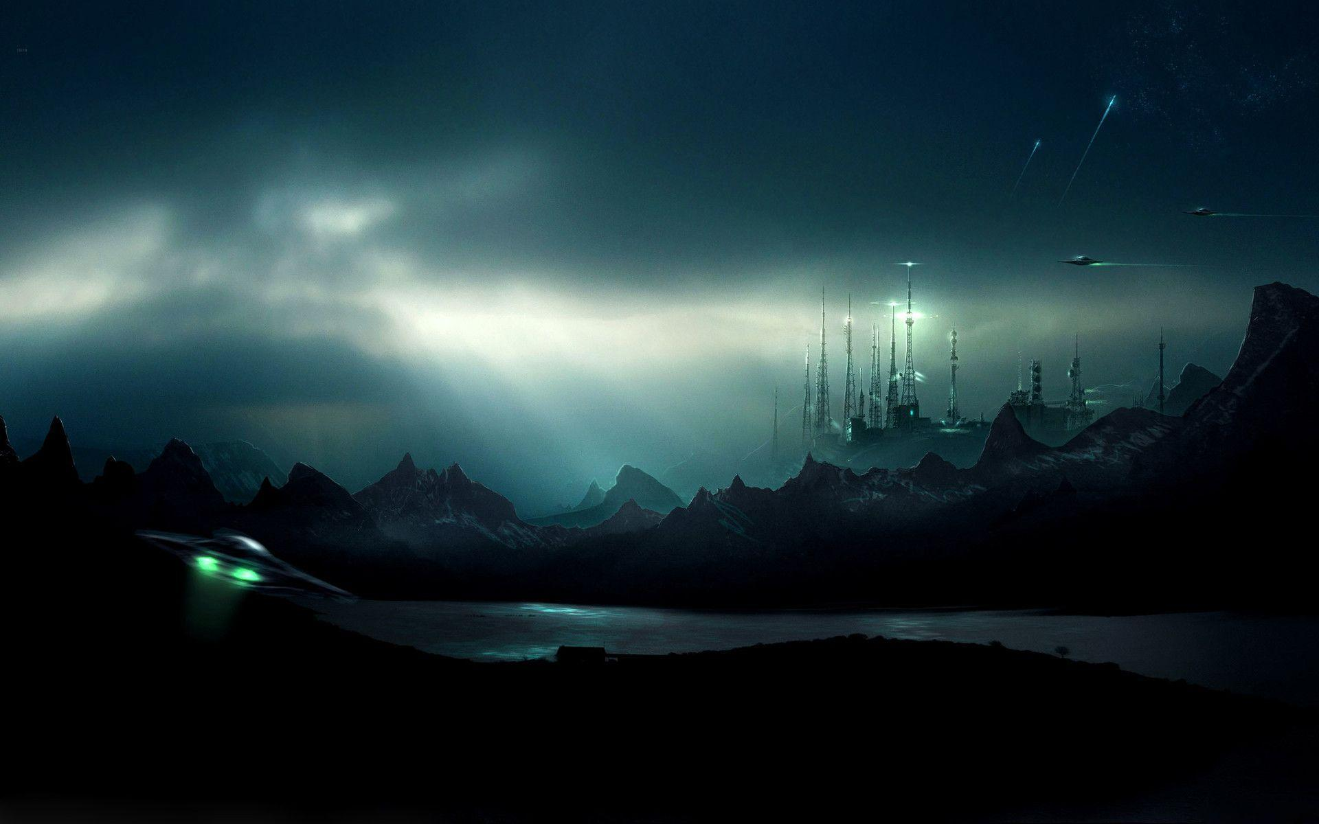 sci fi backgrounds - photo #8