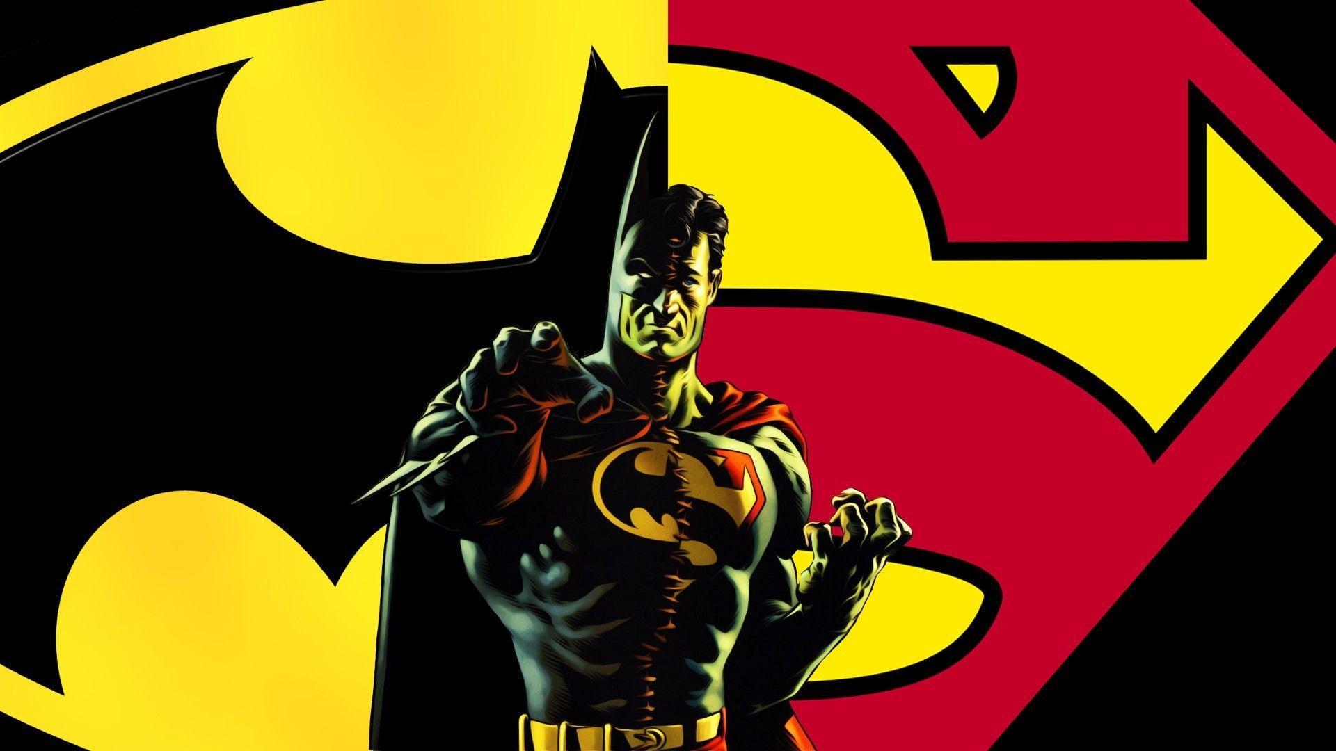 Superman And Batman Logo Wallpapers - Wallpaper Cave |Batman Superman Logo Wallpaper