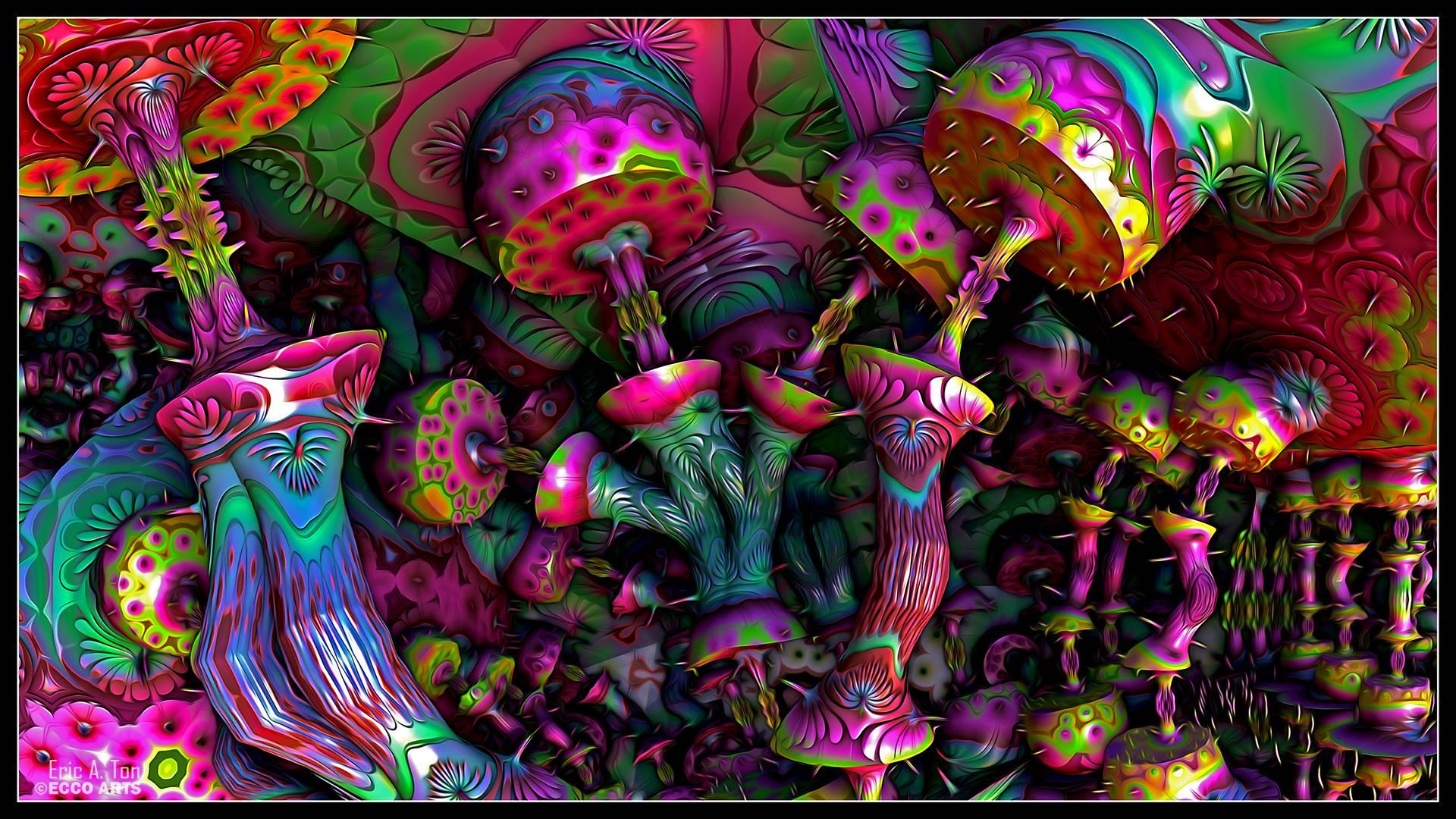 mushroom family wallpaper desktop - photo #33