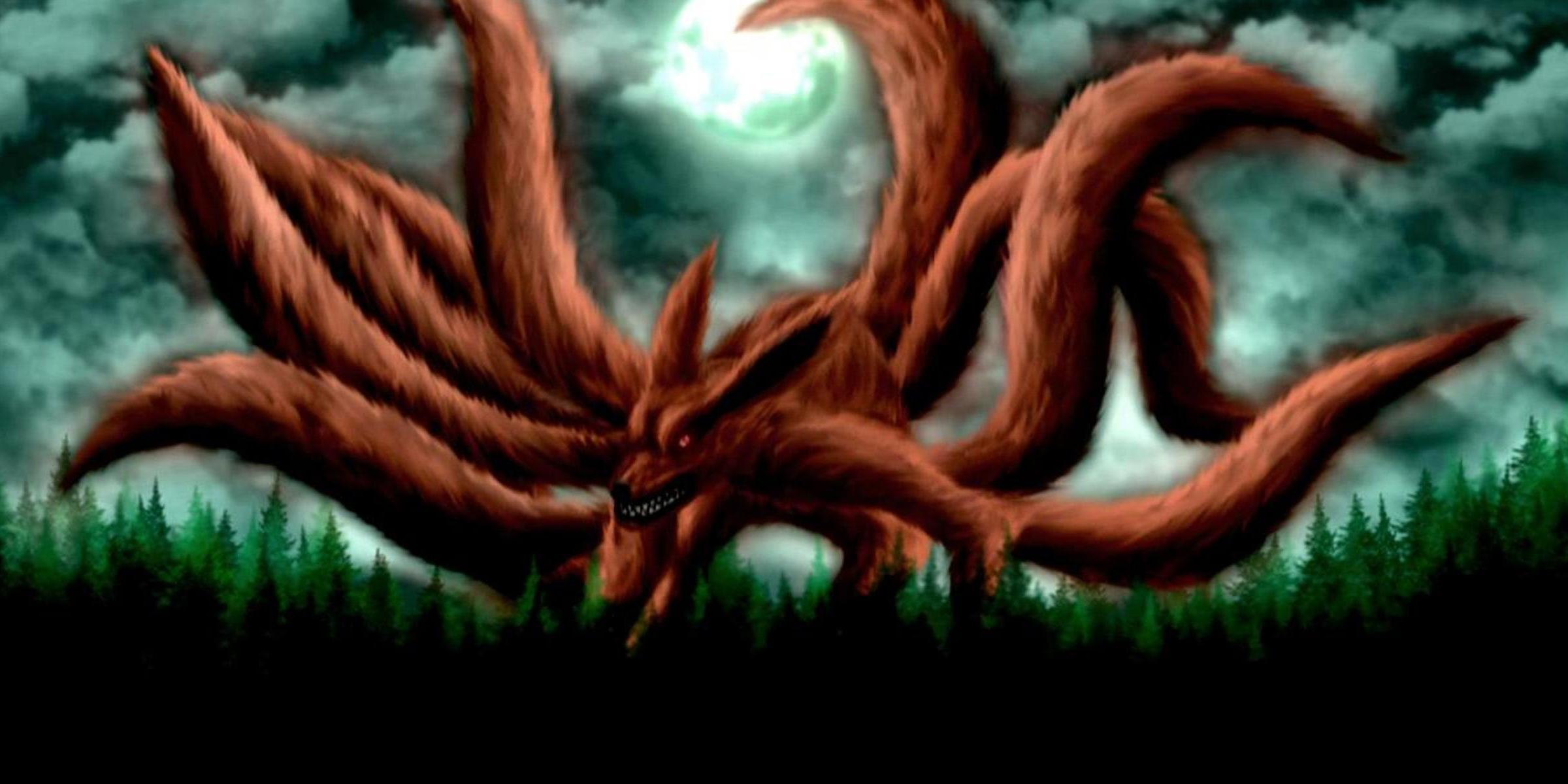 Naruto Nine Tails Wallpapers Wallpaper Cave