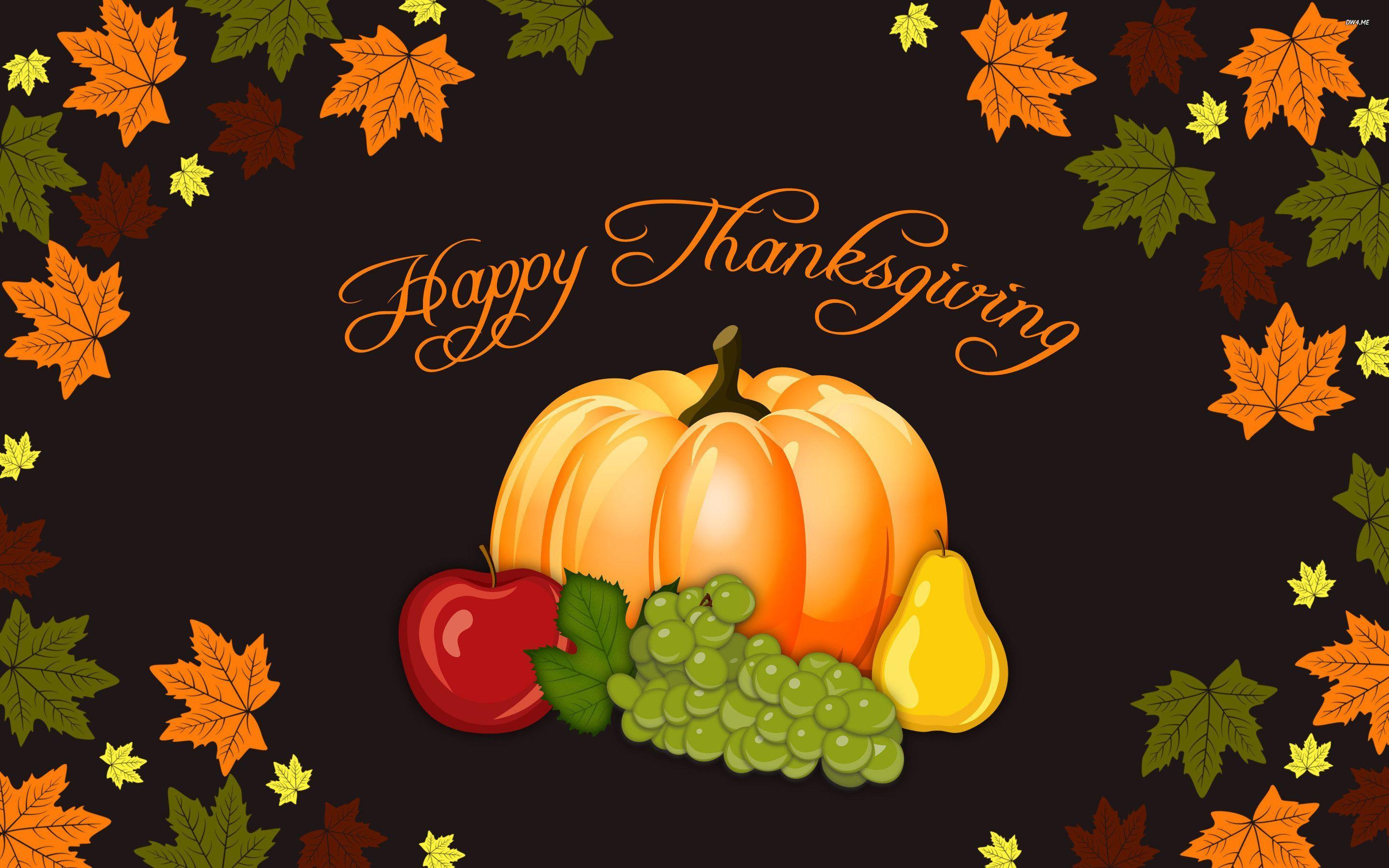 Wallpapers For > Happy Thanksgiving Wallpapers Hd