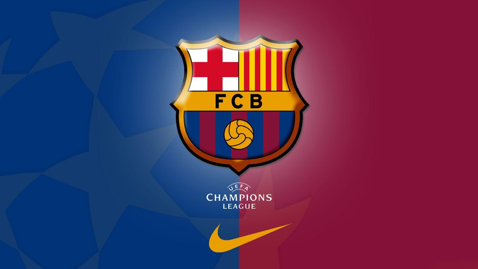 fc barcelona logo wallpapers wallpaper cave