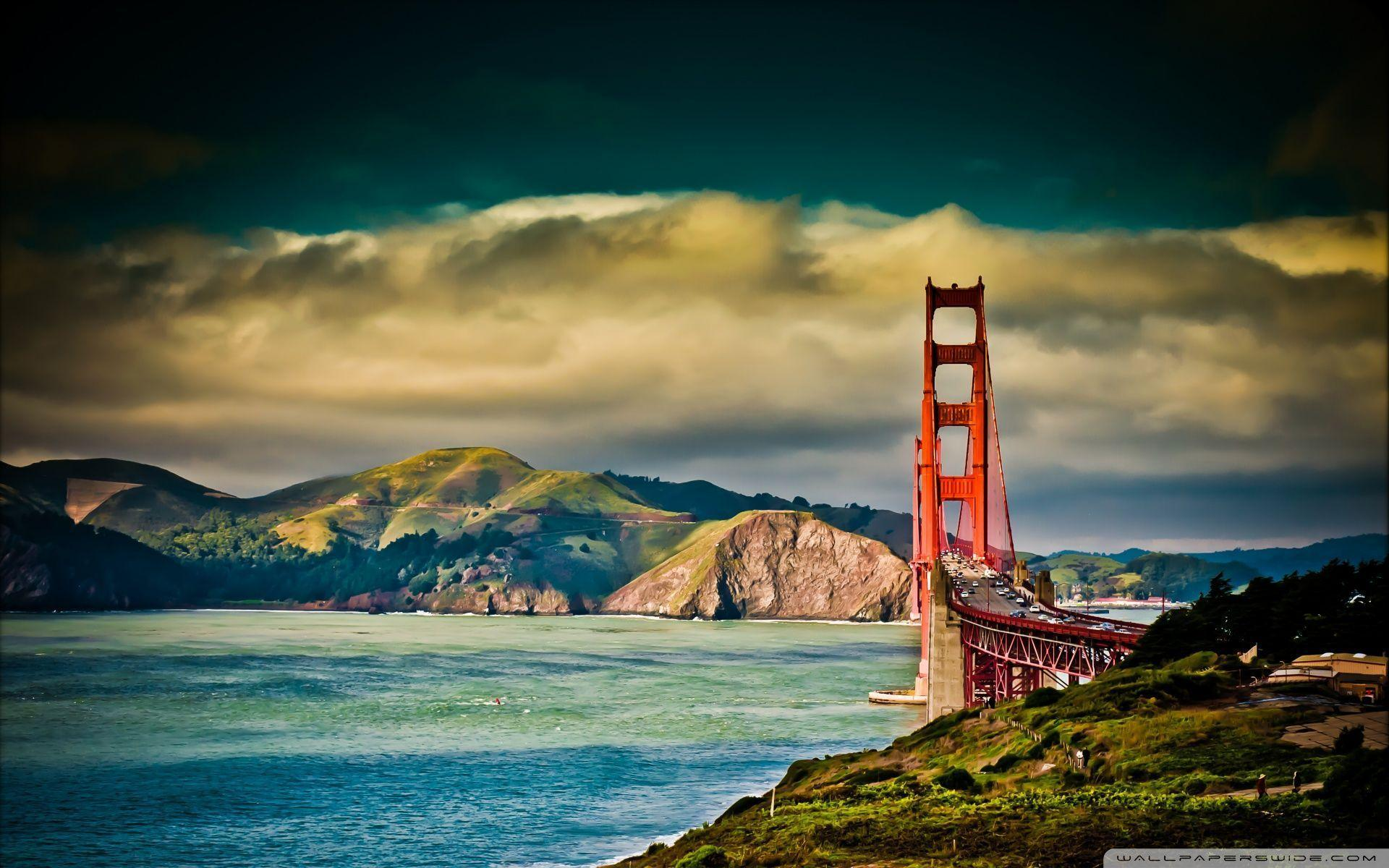 Golden Gate Bridge wallpaper,USA hd wallpapers,World Scenery