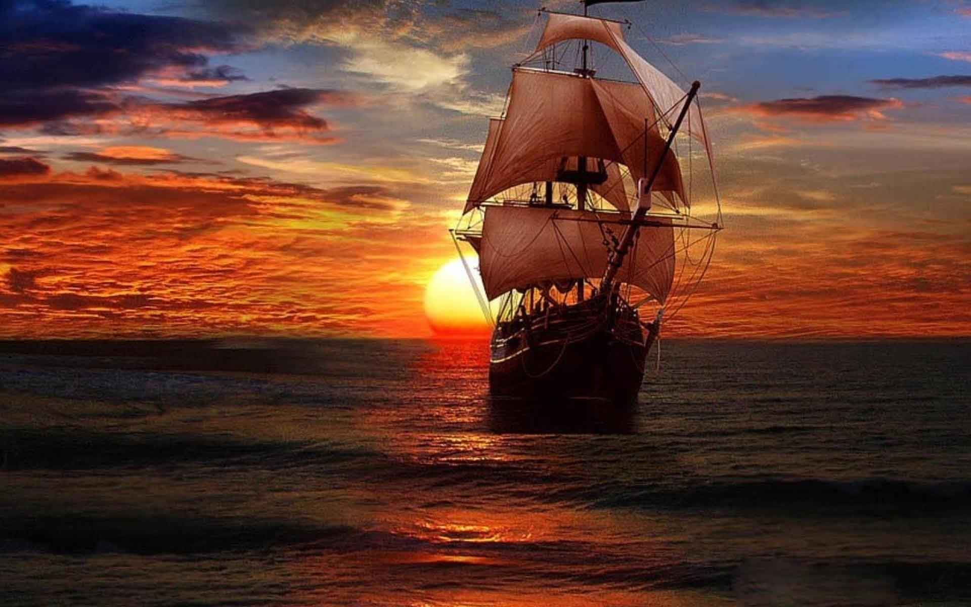 Pirate Ship Backgrounds