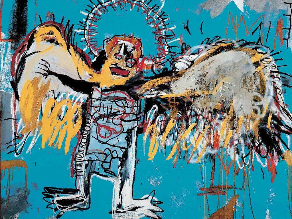 My Free Wallpapers - Artistic Wallpaper : Basquiat - Fallen Angel