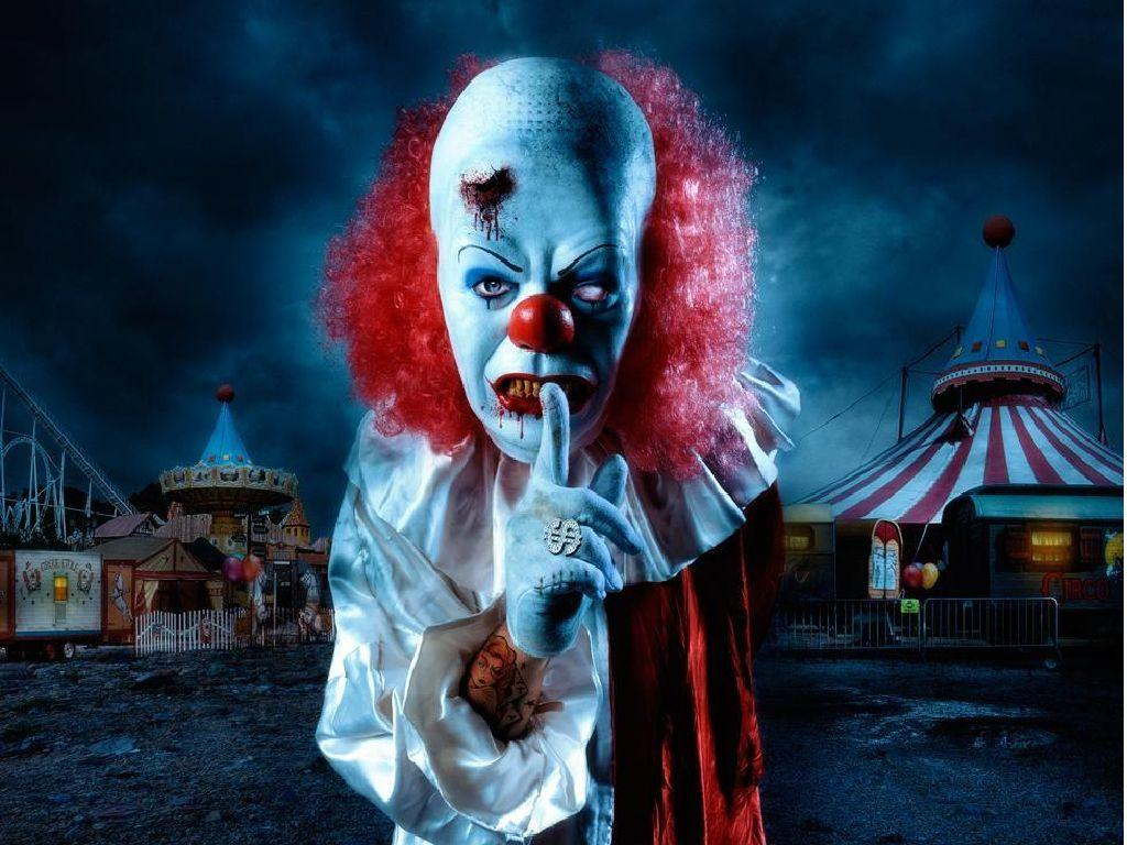 Free Evil Clown Wallpapers