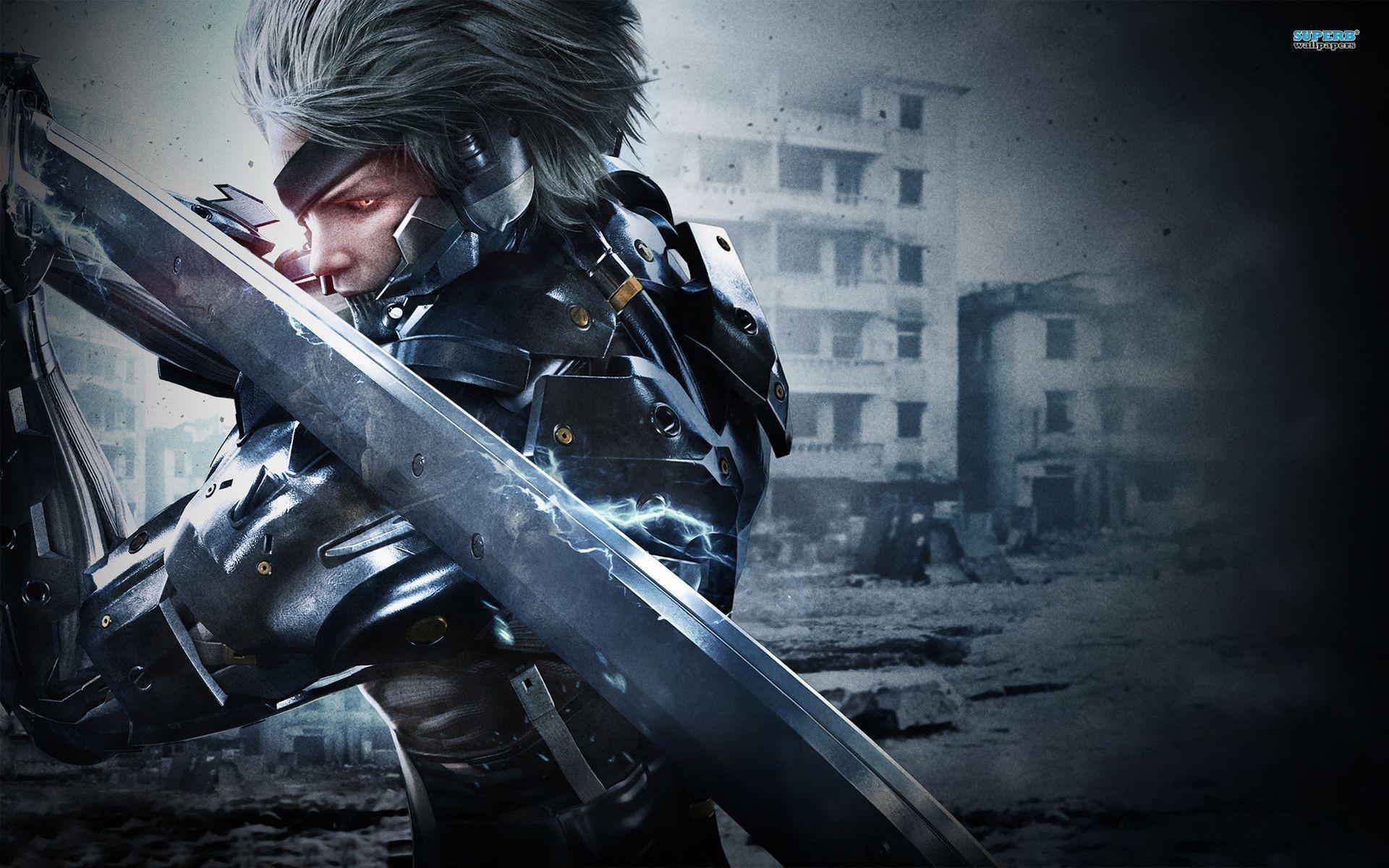 42 Hd Raiden Wallpaper On Wallpapersafari: Mgs Rising Wallpapers