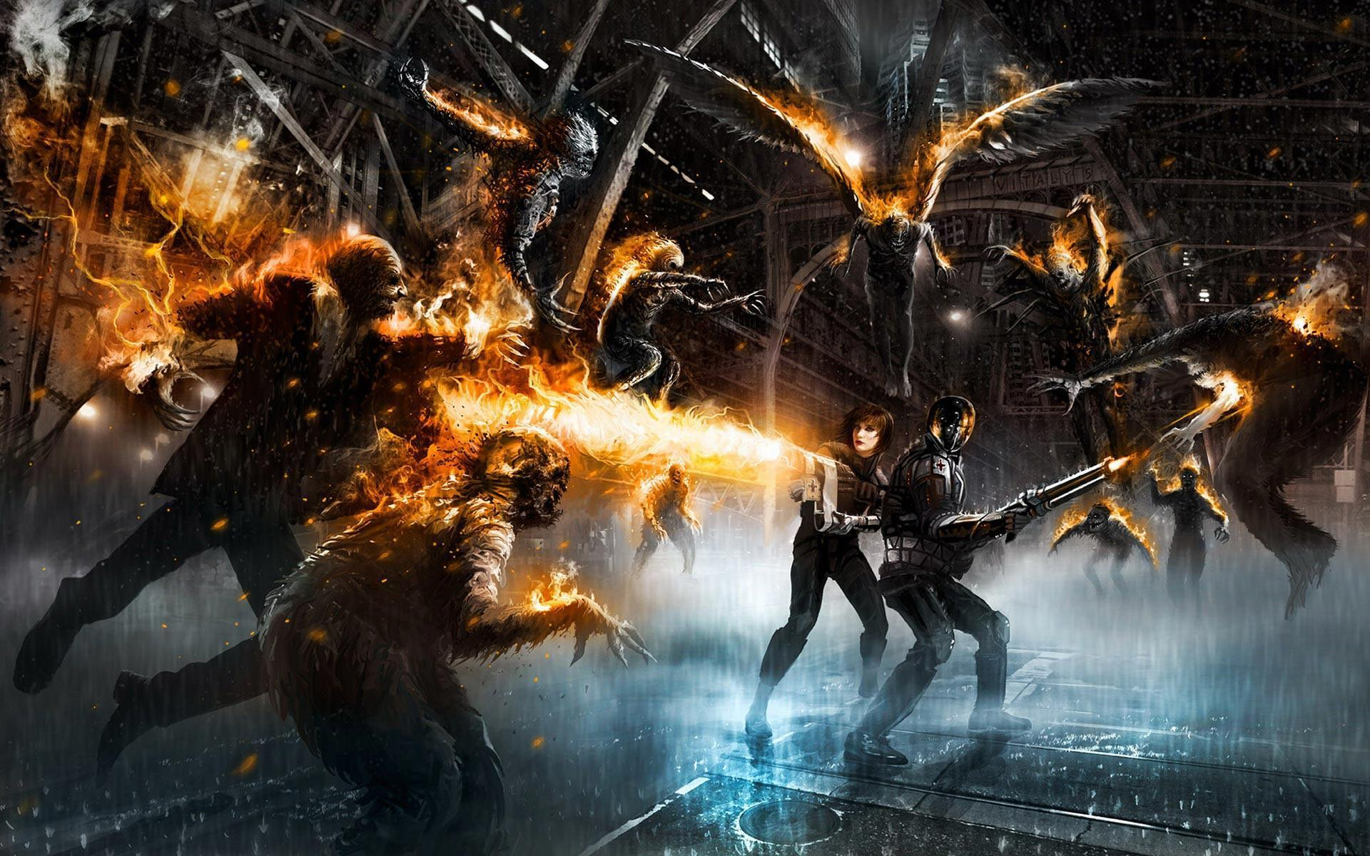 cool zombie wallpapers wallpaper cave