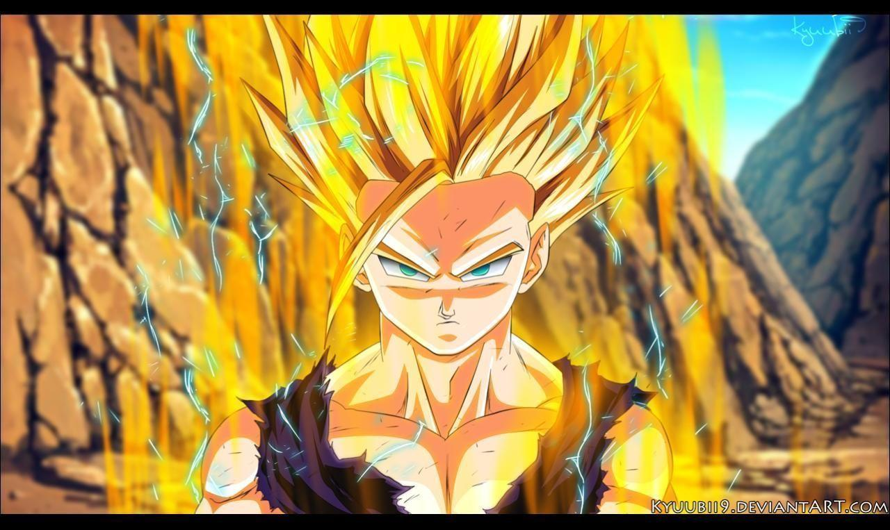 Ssj2 gohan wallpapers wallpaper cave - Teen gohan wallpaper ...