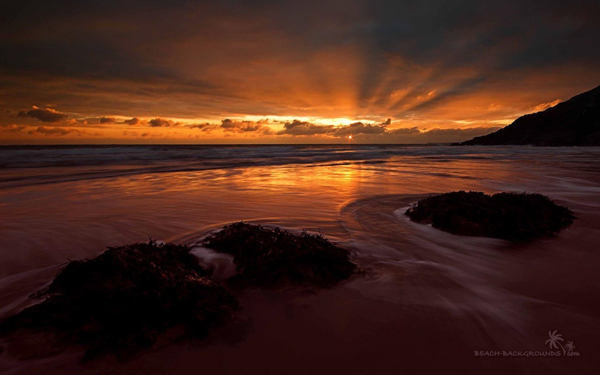 Sunset Wallpaper Hd 1920x1080: Ocean Sunset Wallpapers