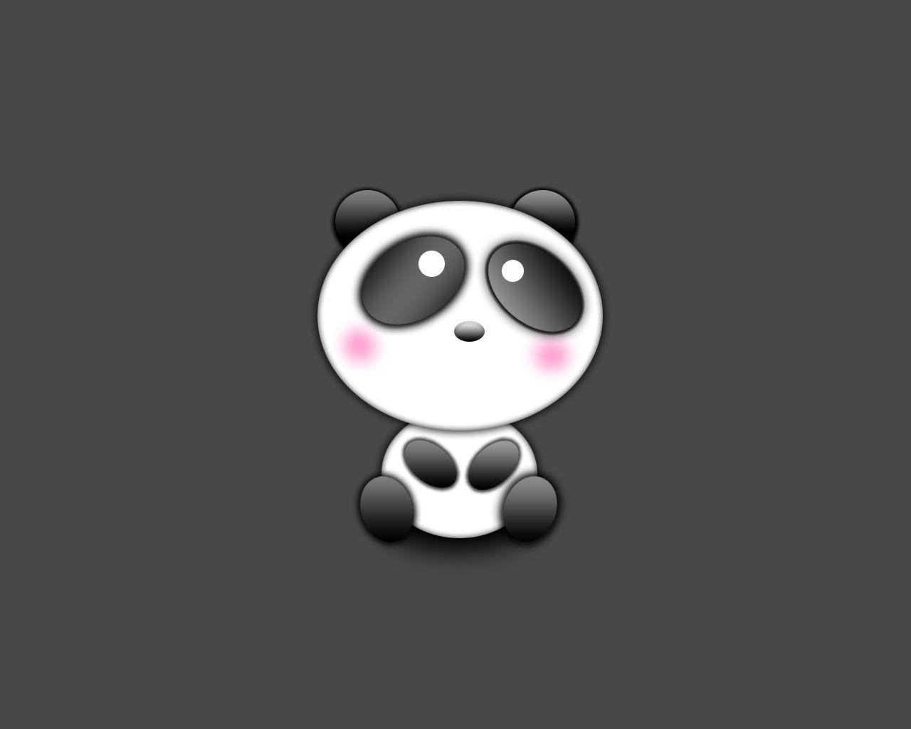 cute panda wallpapers wallpaper cave
