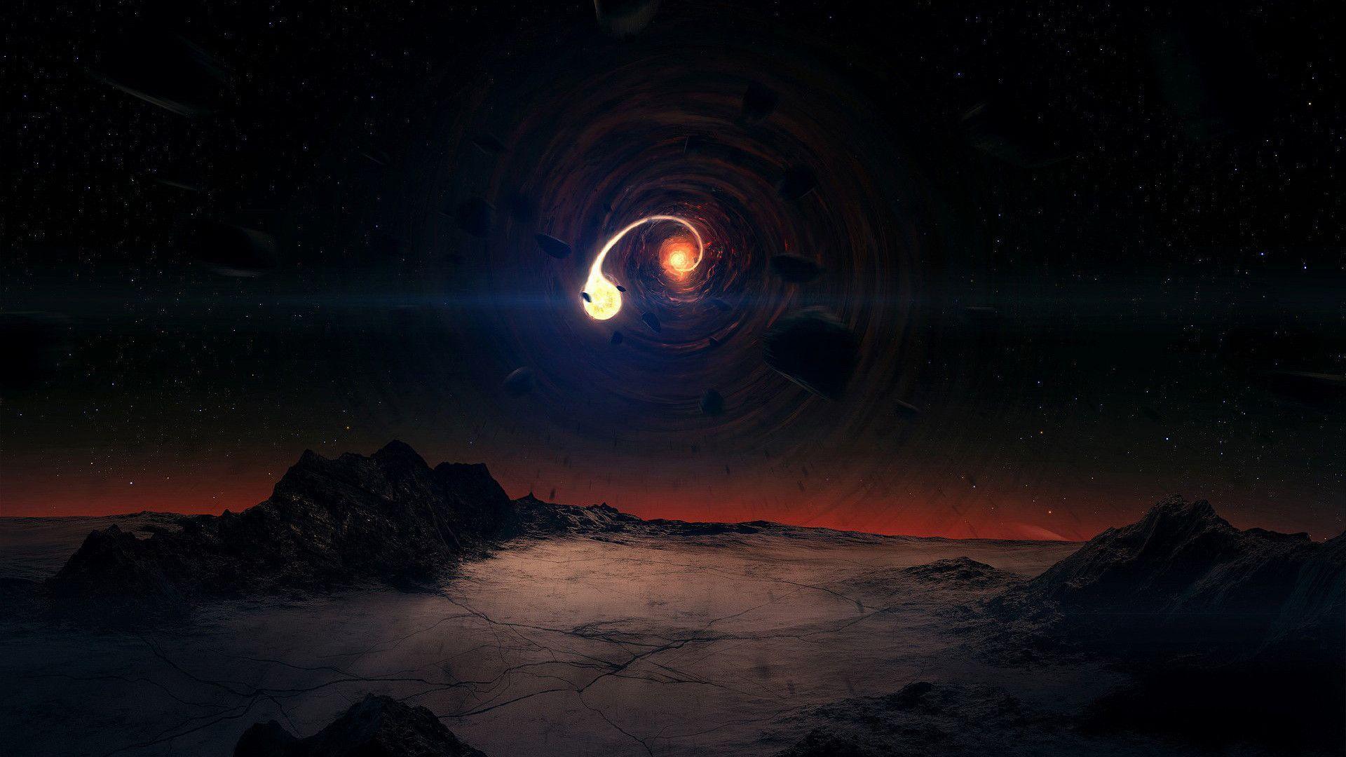 Black Hole Backgrounds Wallpaper Cave