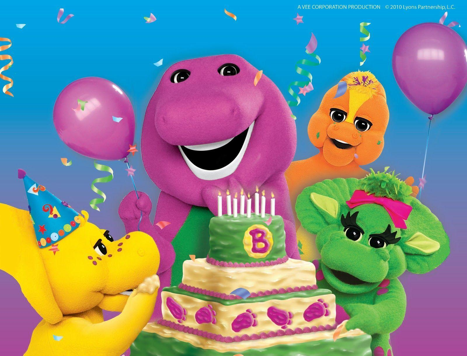 Barney the Purple Dinosaur Wallpapers Download Free for Mobile
