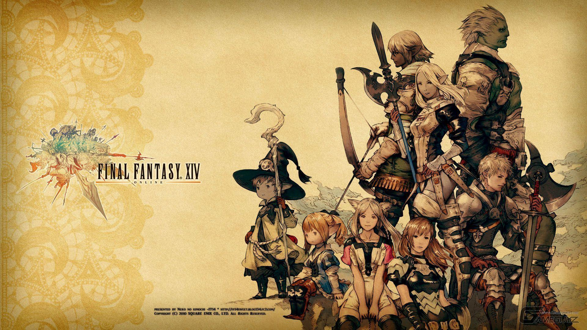 Final fantasy xiv wallpapers wallpaper cave ffxiv wallpaper 1080p viewing gallery voltagebd Image collections