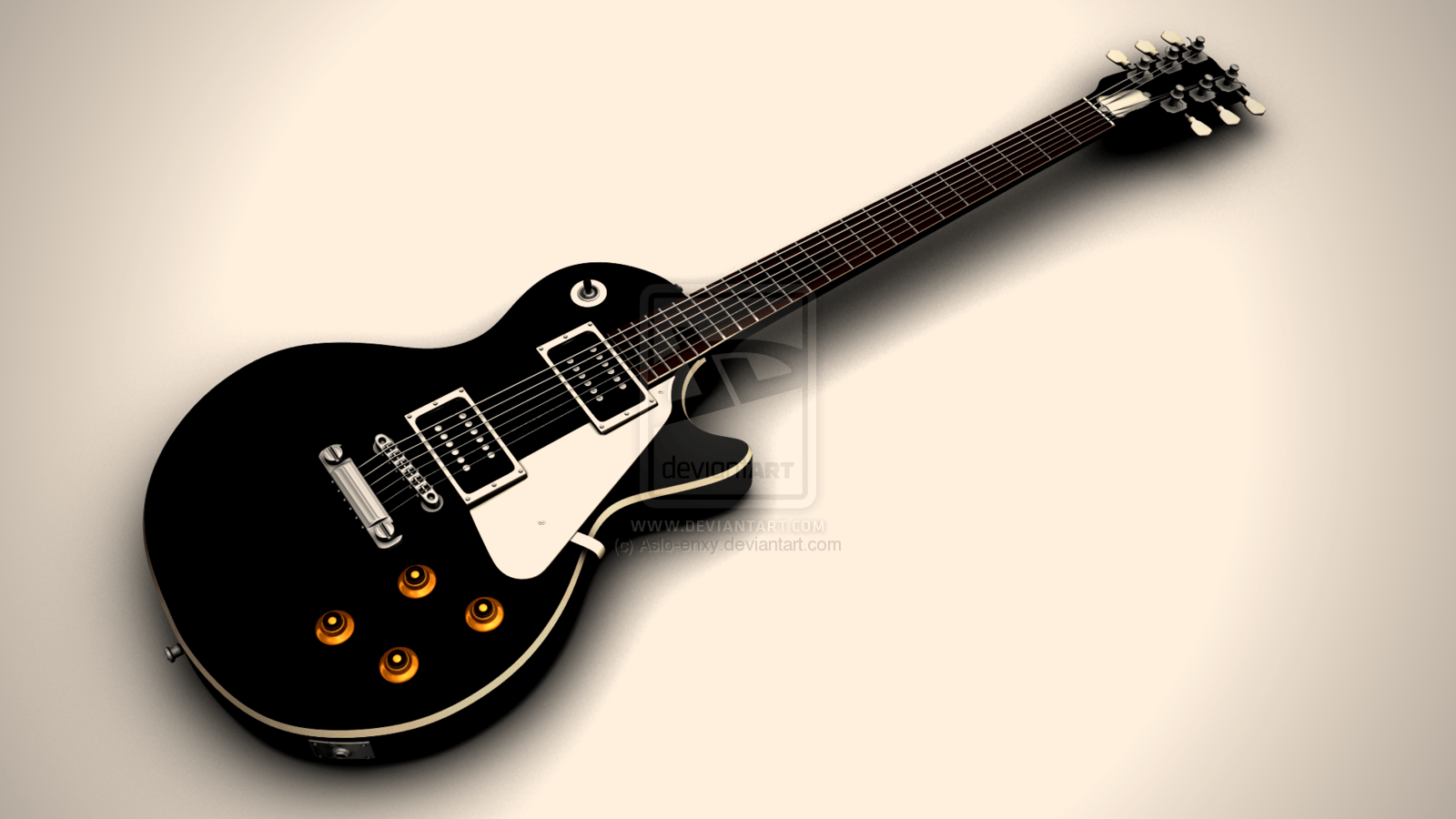 Les Paul Guitar Wallpapers