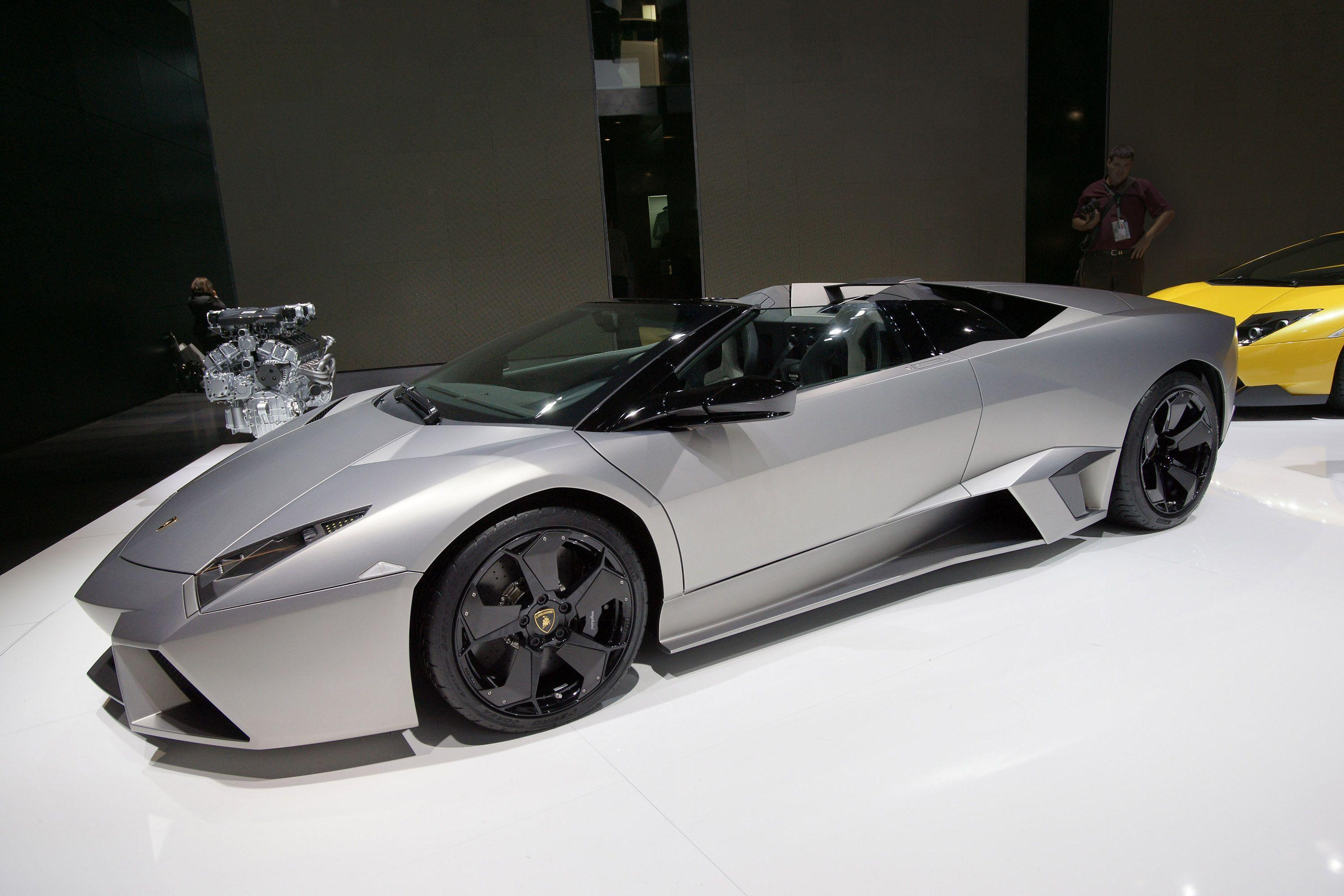 Lamborghini Reventon Roadster Wallpapers Wallpaper Cave