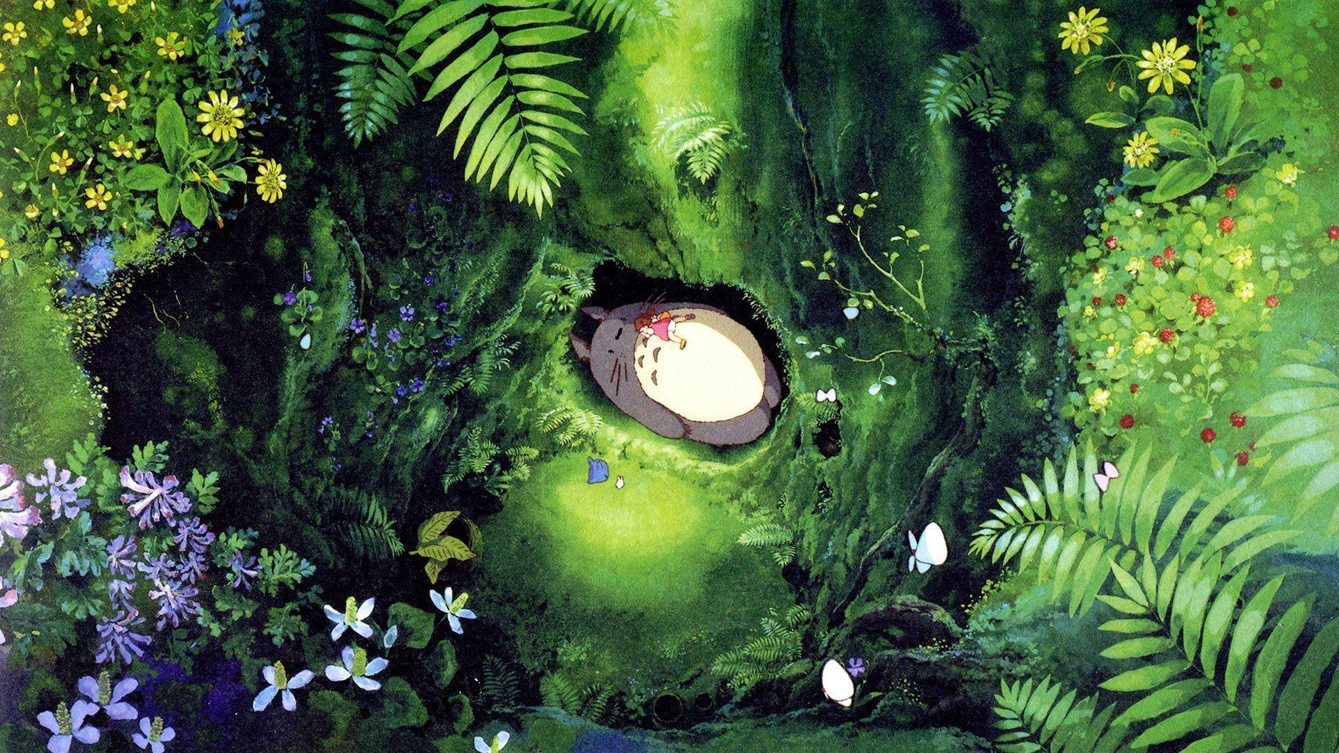My Neighbor Totoro Wallpapers Wallpaper Cave