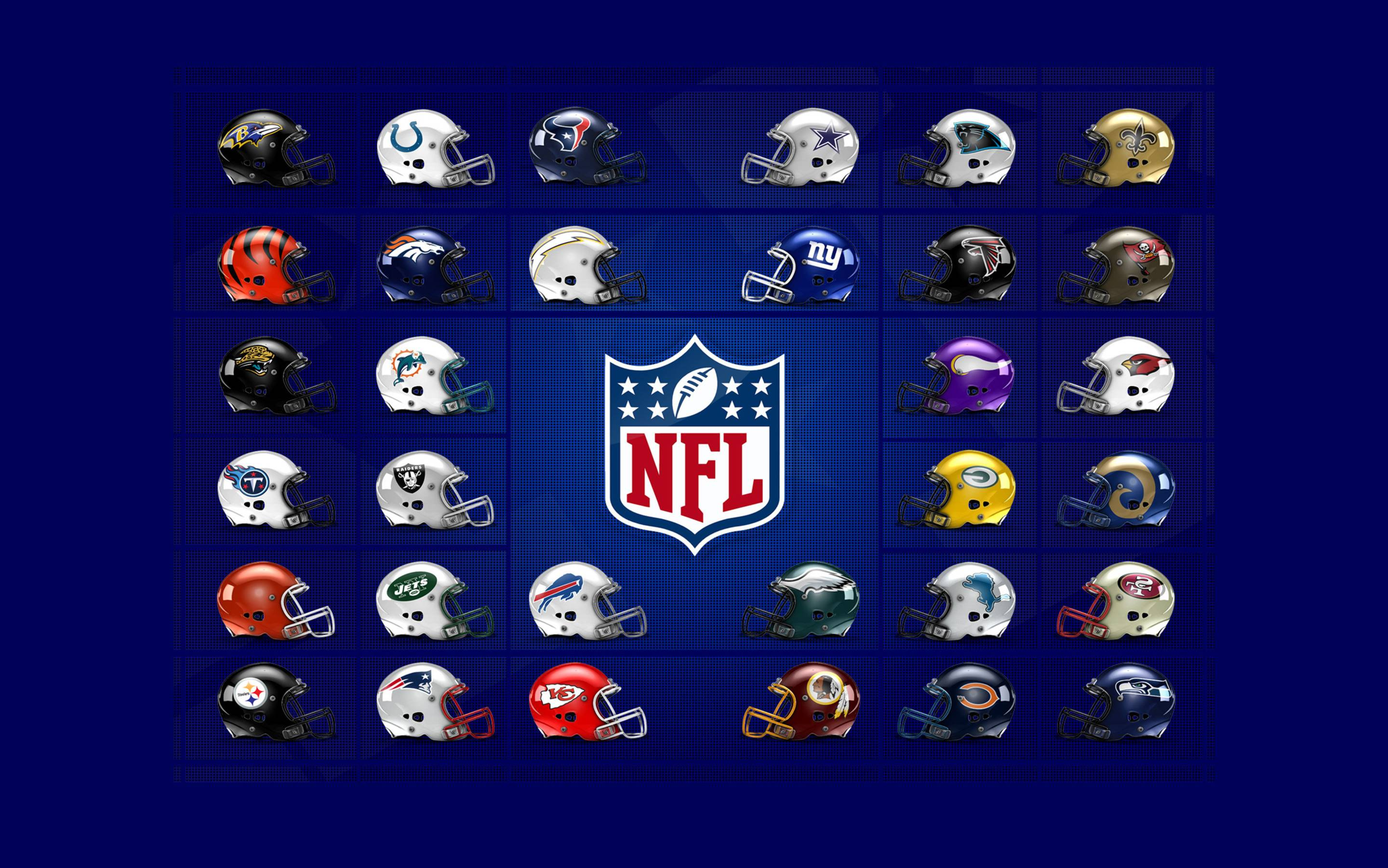 NFL Logos Wallpaper Wide or HD | Sports Wallpapers