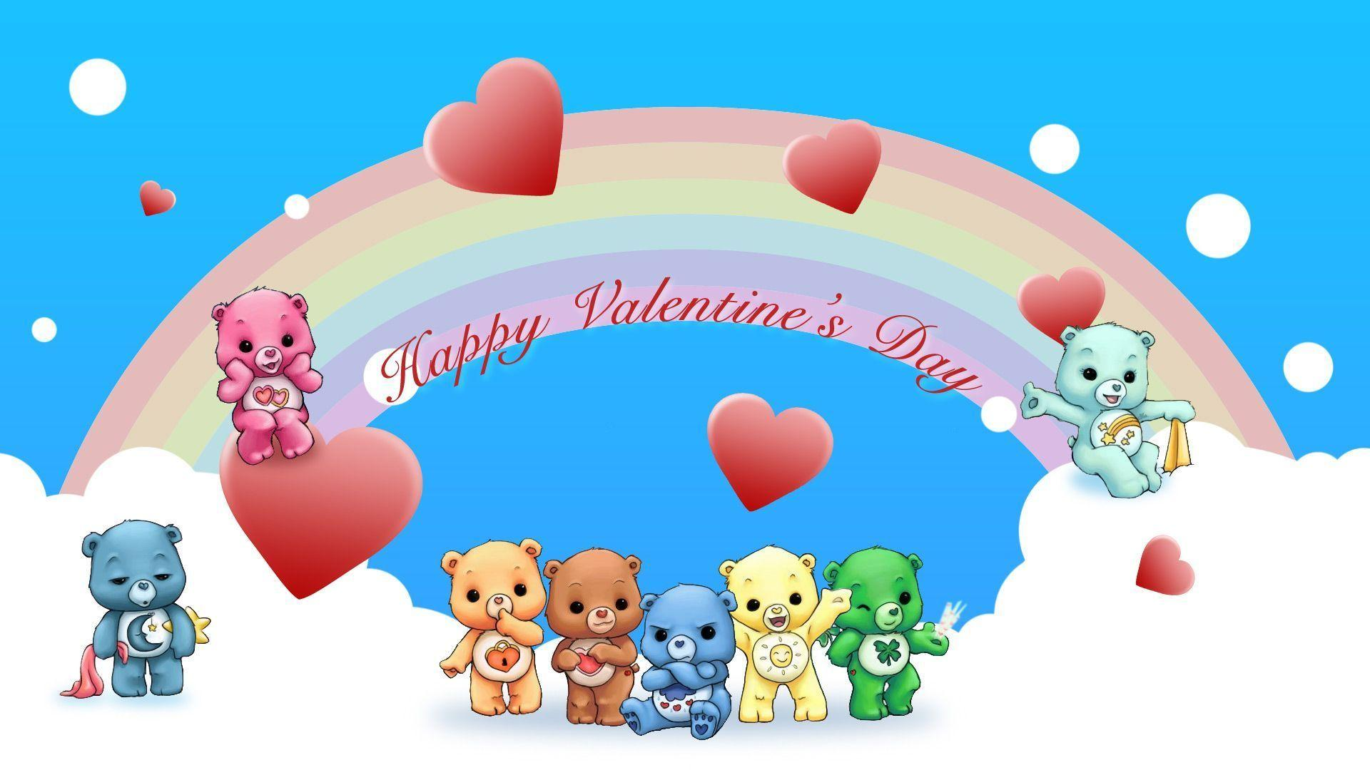 Wallpapers For > Cute Animal Valentines Day Wallpaper