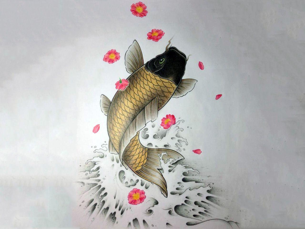 Koi fish wallpapers wallpaper cave for Koi 5 muhavare