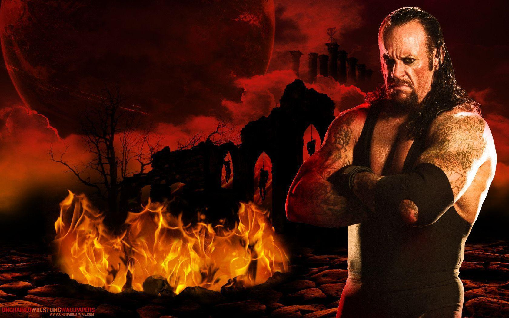 "WWE Undertaker ""Reaper Of Lost Souls"" Wallpapers ~ Unchained"