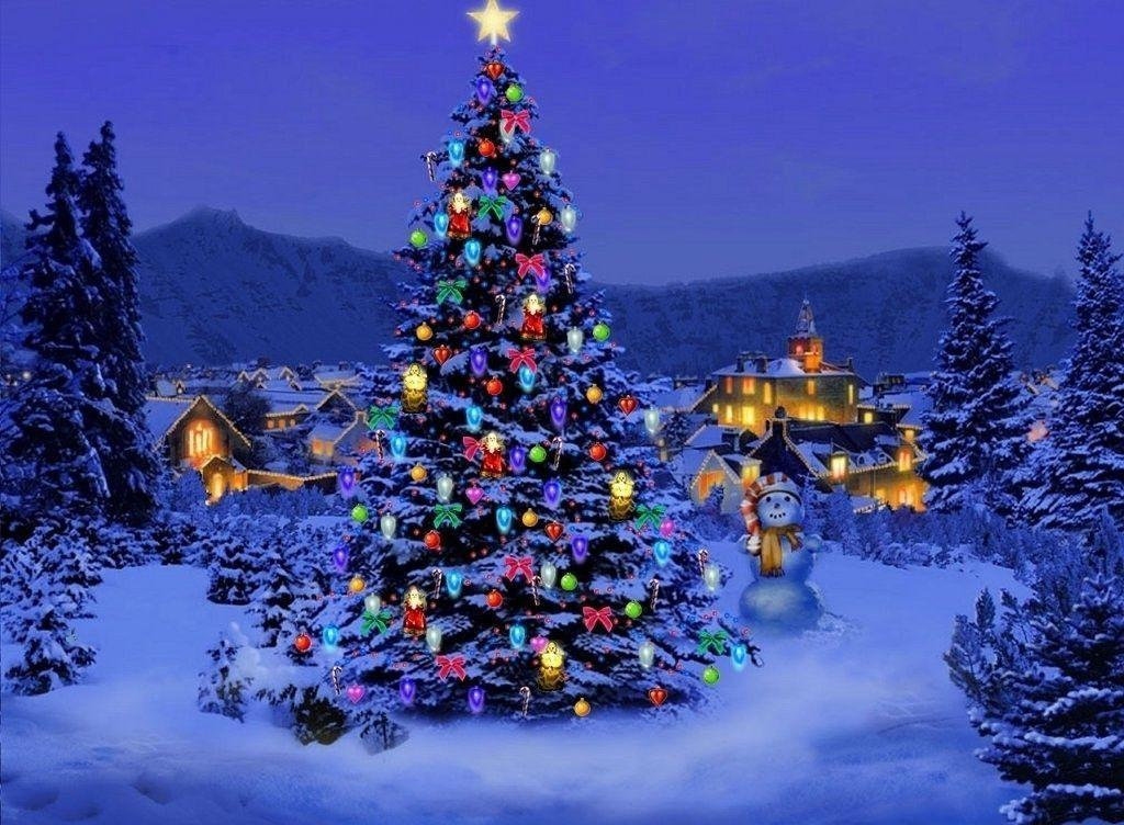 Free Christmas Wallpapers For Desktop - Wallpaper Cave