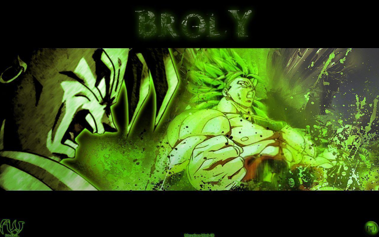 Broly The Legendary Super Saiyan Wallpaper
