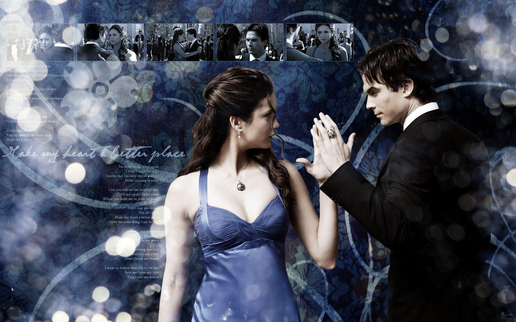 The Vampire Diaries Wallpapers Damon - Wallpaper Cave