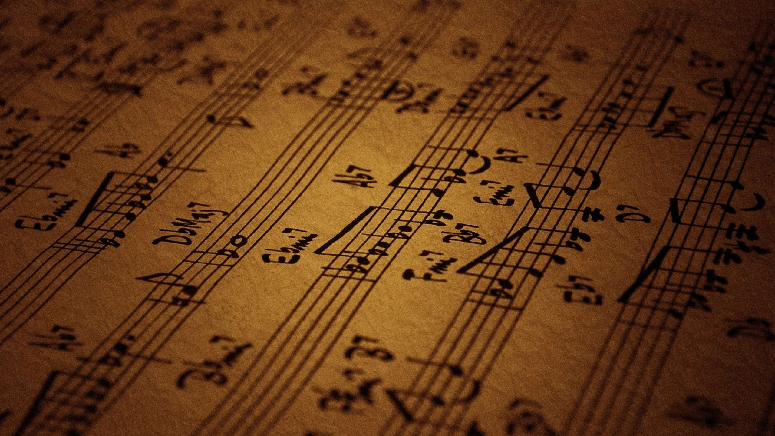 Marvellous Hd Music Notes Wallpapers 2560x1440PX ~ Music Note