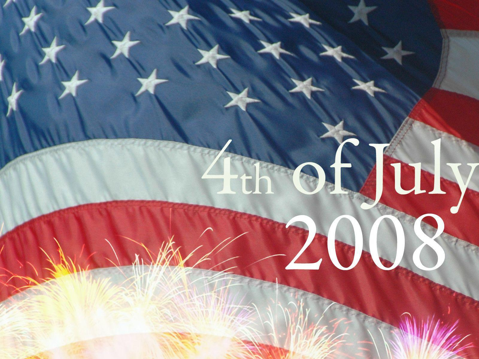 4th of July 2008 Wallpaper | Digital Revolutions