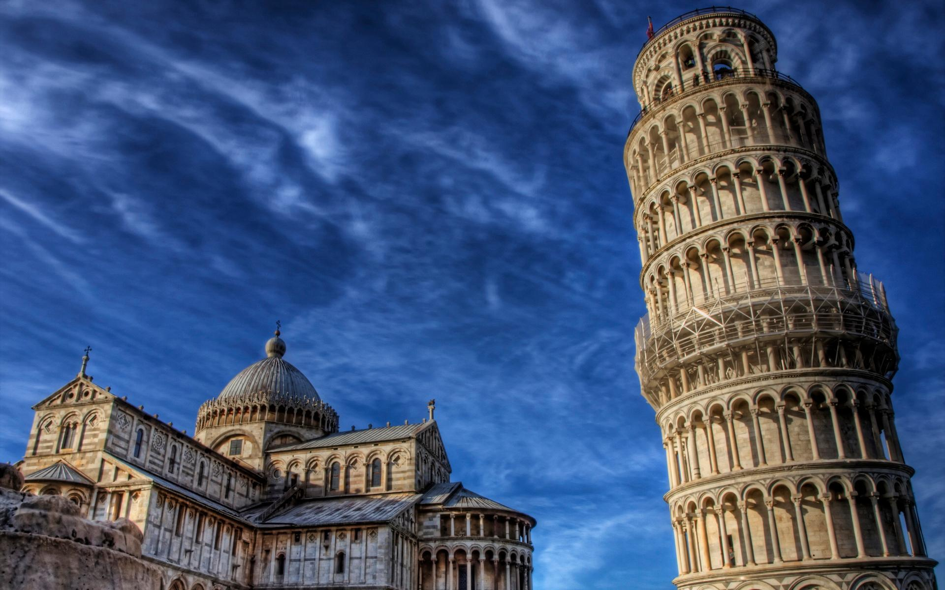 Leaning Tower Of Pisa Wallpapers - WallpapersAK