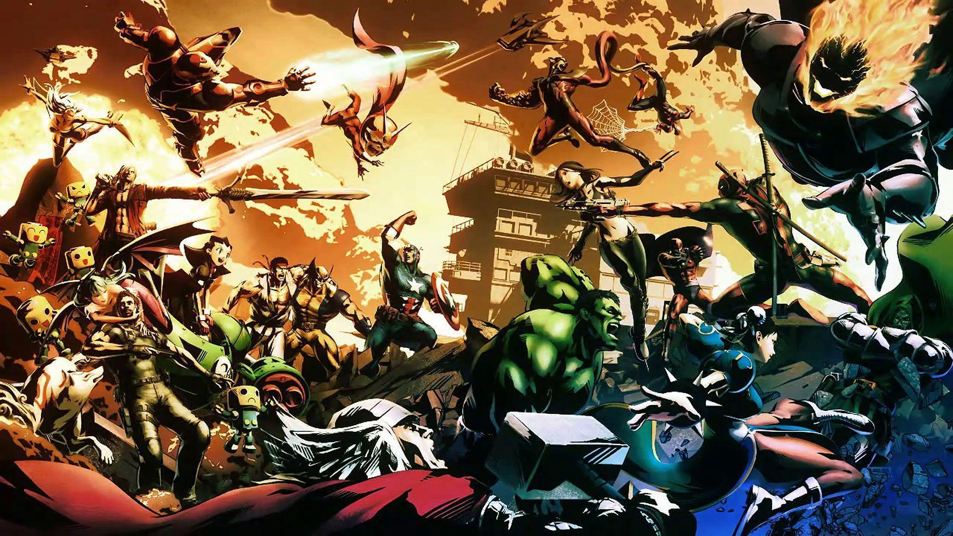 Marvel Vs Capcom 3 Wallpapers Wallpaper Cave