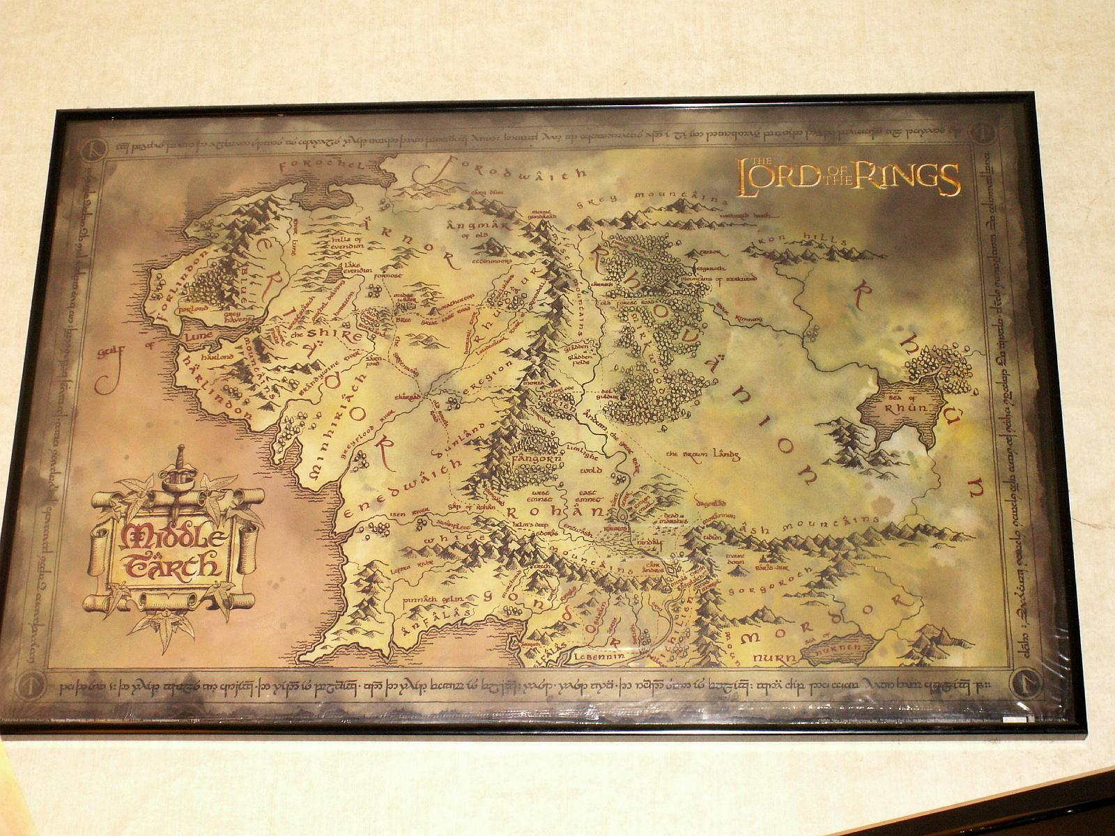 Image For > Middle Earth Map Lord Of The Rings Wallpapers