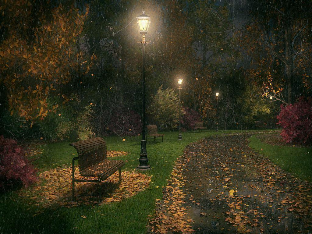 rainy night wallpapers background - photo #9