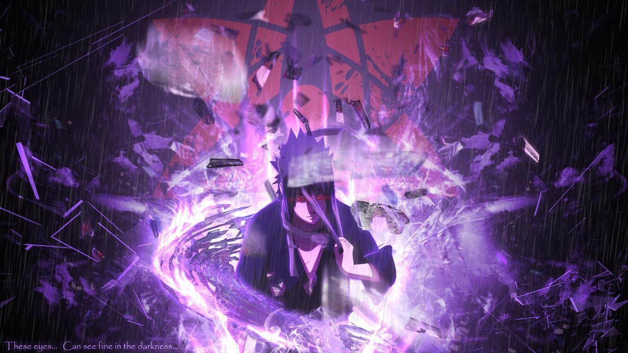Sasuke Uchiha Sharingan Wallpapers Wallpaper Cave