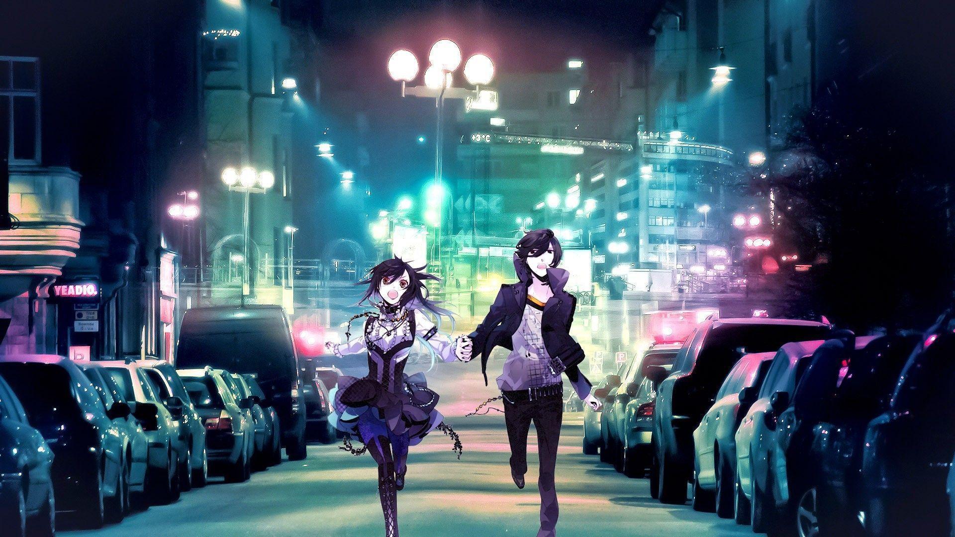romantic anime wallpaper - photo #13
