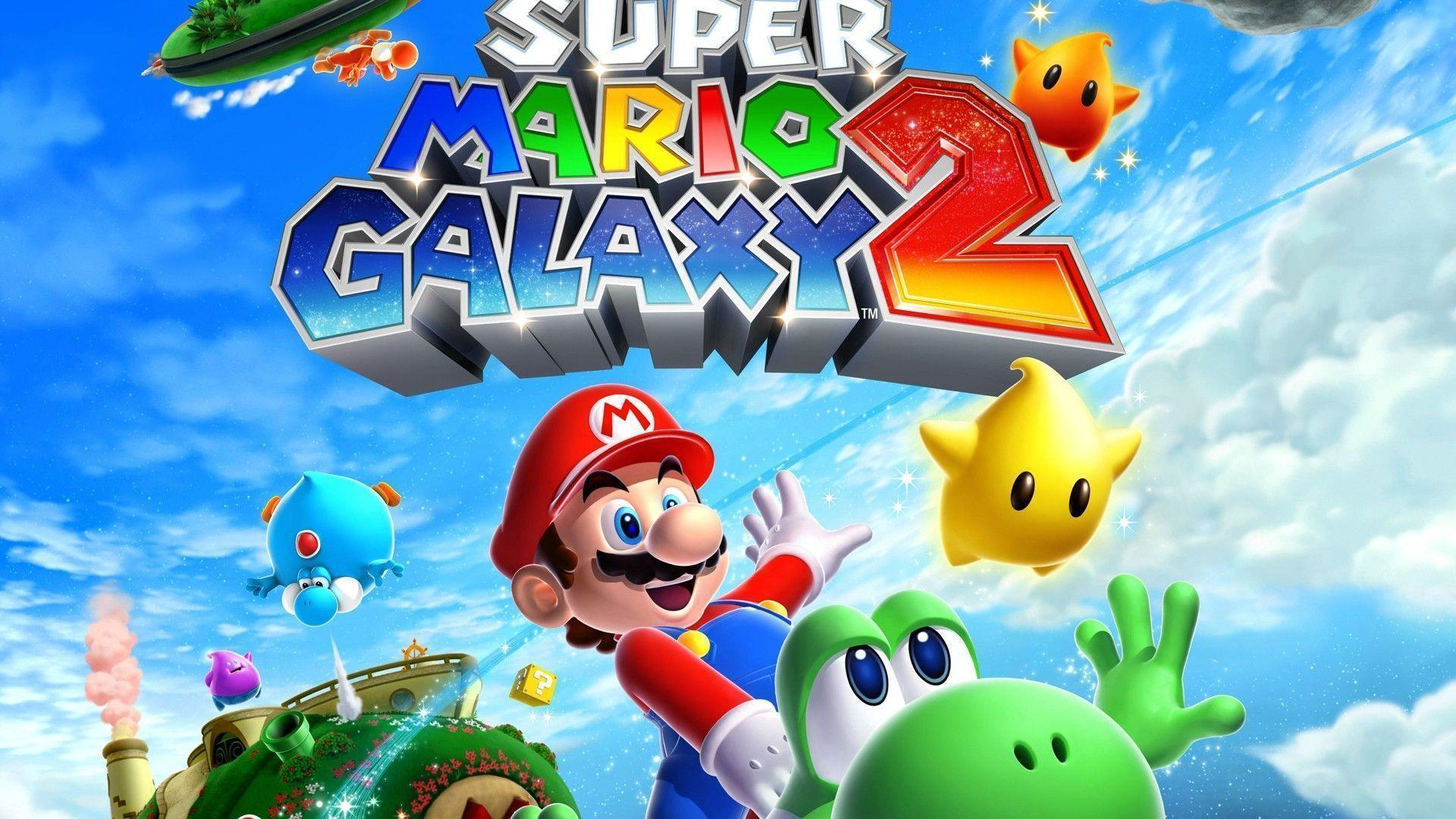 Super Mario Galaxy 2 Wallpapers Hd Wallpaper Cave