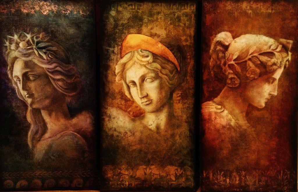 a review of the muses the greek goddesses