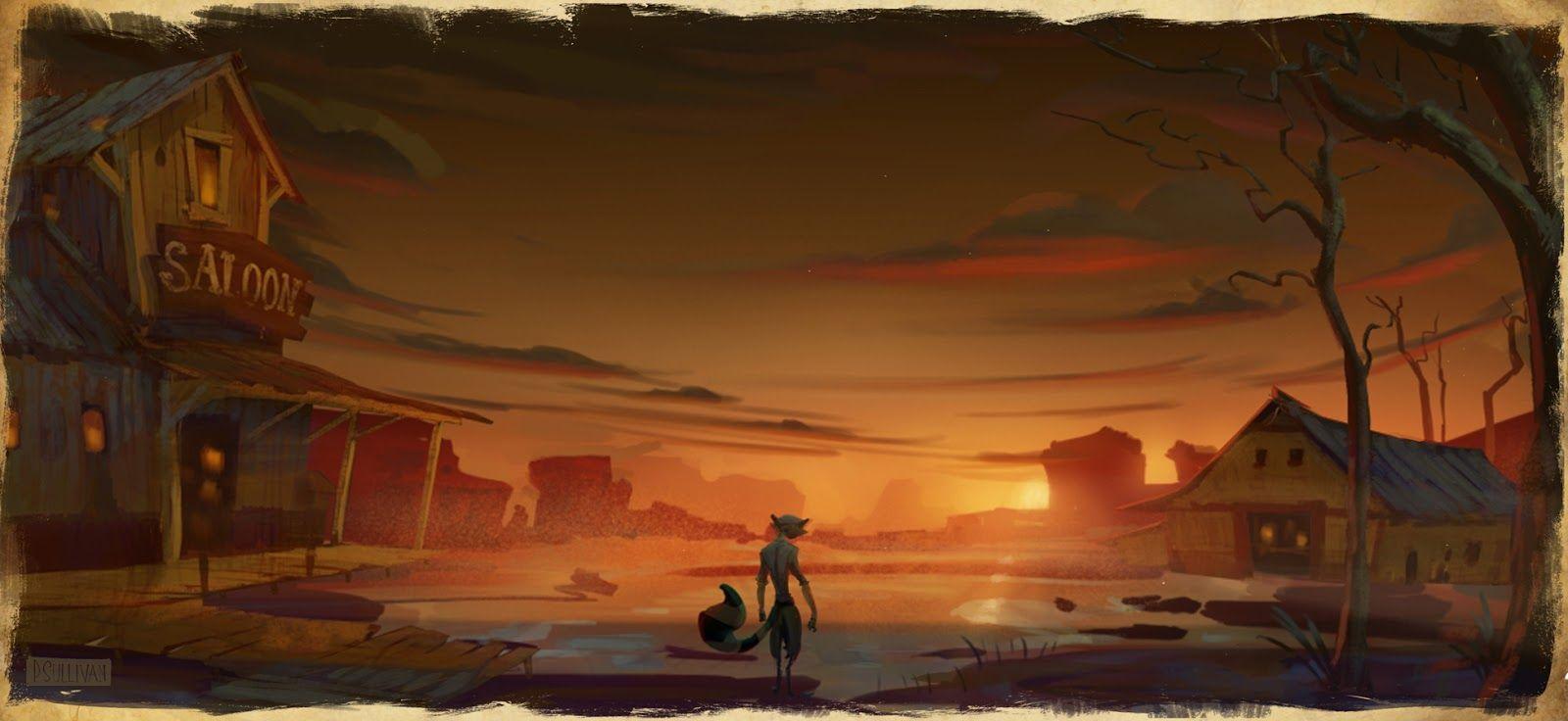 wild west background-#9