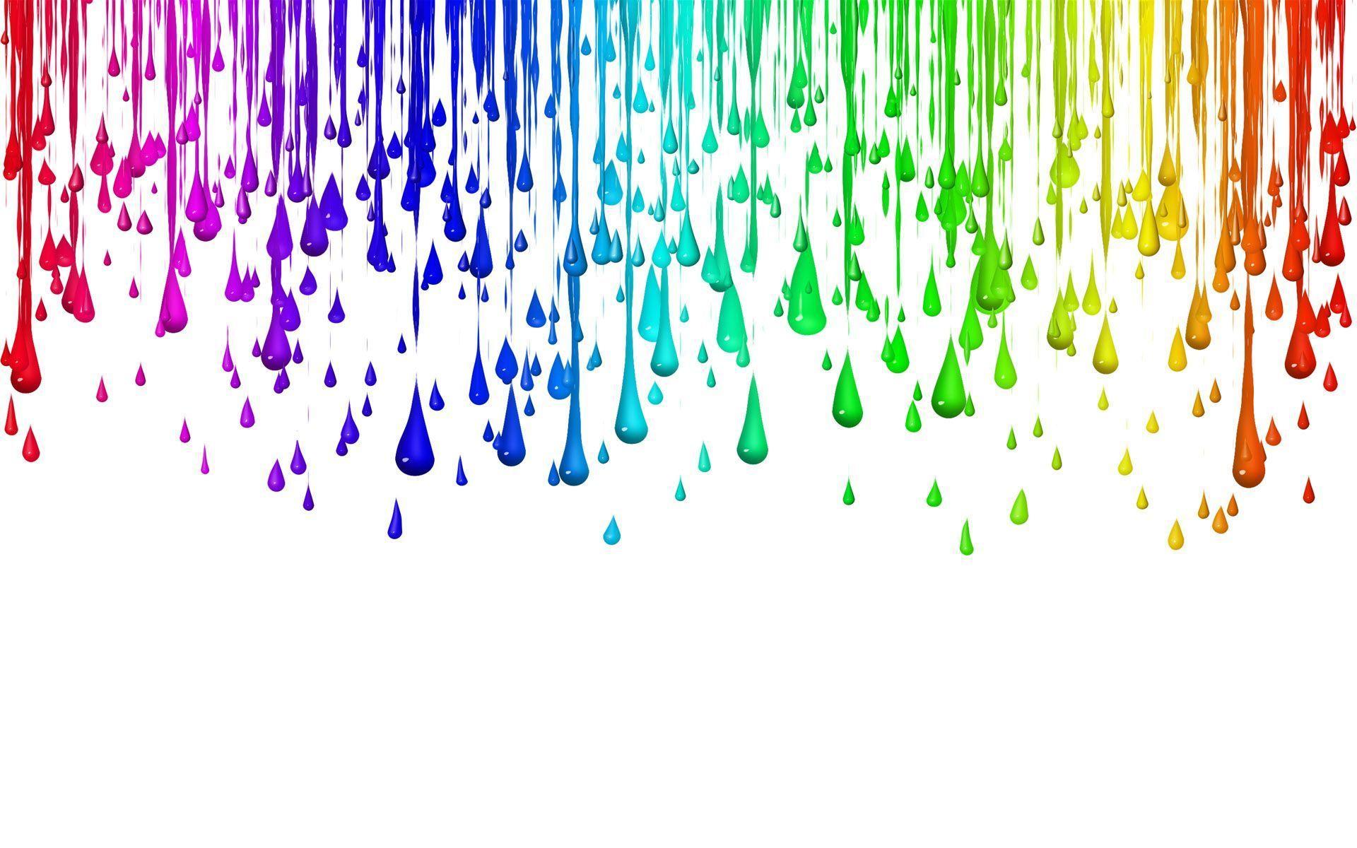 Цветной дождь как сделать