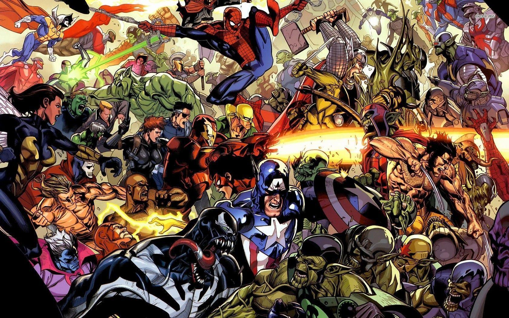 Marvel Super Heroes 60 Superhéroes: Superhero Wallpapers