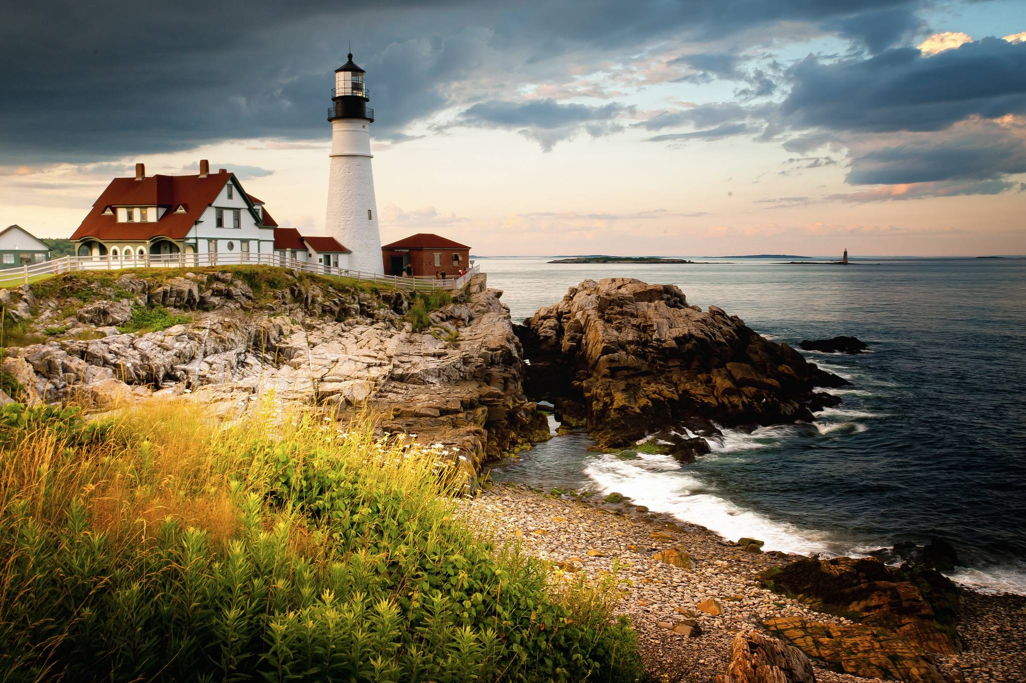 download wallpaper portland head light cape elizabeth maine