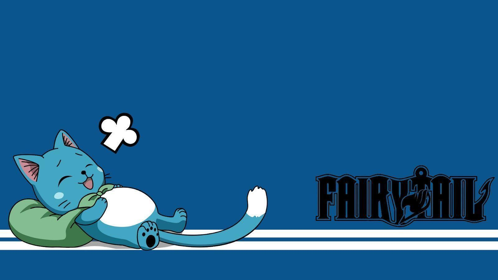 HAPPYTEY'S DAILY LIFE NOTES: FAIRY TAIL 's HAPPY WALLPAPER